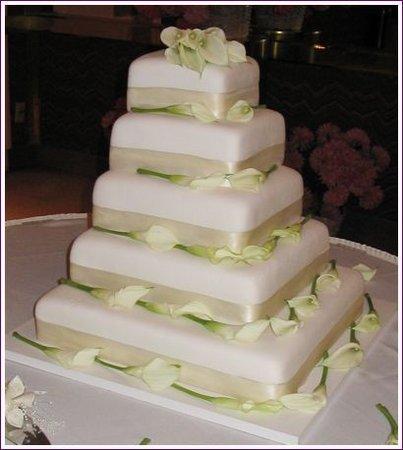 Hochzeitstorten eckig bilder